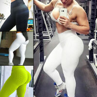 Femmes Women YOGA Gym Sports Pants Hip Push Up Leggings Fitness Workout Stretch