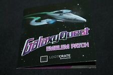 Galaxy Quest Authentic Prop Replica Patch - Loot Crate Exclusive