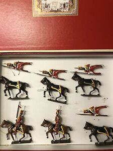 """Cbg Mignot: Boxed Dutch """"Red"""" Lancers Of The Guard. Post War c1970"""