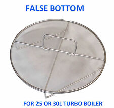 Stainless Steel False Bottom For 25L or 30L Turbo Boiler
