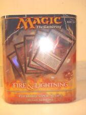 Fire and Lightning premium deck Magic the Gathering SEALED MTG