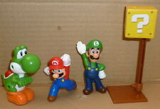 Super mario  luigi and yoshi mcdonalds play toys