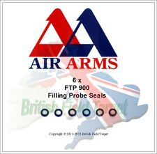 6 x Air Arms FTP 900 Filling Probe Replacement Seals New FP441