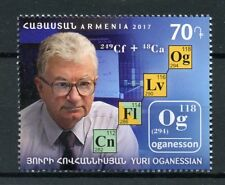 Armenia 2017 MNH Yuri Oganessian 1v Set Science Scientists Chemistry Stamps