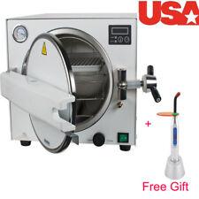 Sale Dental Lab Equipment 18L Medical Steam Pressure Sterilizer sterization+Tray