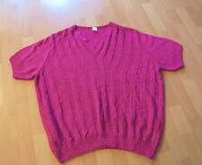 Damenpulli Gr.52/54  neu   mit kurzen Arm   pink   Polyacryl/Polyamid  Nr.4775