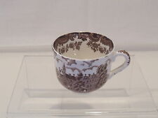 ROYAL WORCESTER AVON SCENES CUP ONLY PALISSY ENGLAND BROWN