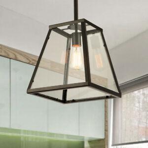 Kitchen Lamp Bedroom Ceiling Light Large Chandelier Lighting Black Pendant Light