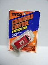 Vintage - TYCO HO COMMAND CONTROL OBSTACLE CAR  For COMMAND CONTROL RACE SETS