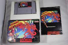 Super Metroid (Super Nintendo SNES) Complete in Box GOOD