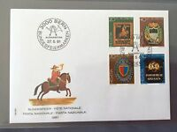 SWITZERLAND FDC 1981 HELVETIA PRO JUVENTUTE Municipality Coat Of Arms 26.11.1981