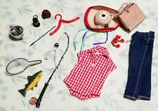 Vintage Mattel Barbie Outfit Picnic Set NM #967 (1959-61) and Extras