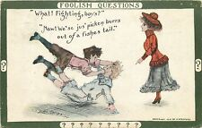 Cobb Shinn~Foolish Questions~Lady: Fighting, Boys?~Pickin' Burrs Out Fishes Tail