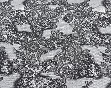Organic Cotton Spandex Print #2 Fabric by Yard Jersey Knit Black White 8/2/17