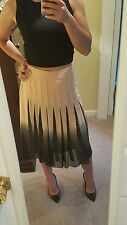 NWT 1350$ Max Mara Couture Degrade Sequins Skirt size 42 US 8 + free top