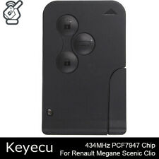 For Renault Megane Scenic 2003 2004 2005 2006 Smart Card Remote Key Fob 433MHz