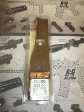 Model 403 Top Grain Leather Sling Walnut Oil w/Basketweave Design