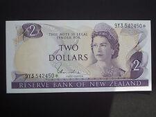 ***Superb** $2  Replacement Crisp  'UNC'  Hardie New Zealand  Banknote***