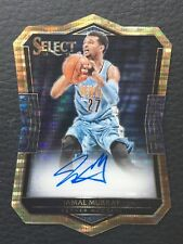 #/99 Jamal Murray 2017-18 Select Die Cut Auto RC