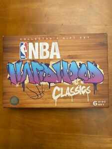 NBA hardwood classics 6 Disc set in like new condition. Discs are all unused