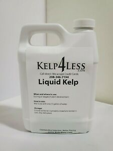 ORGANIC KELP SEAWEED LIQUID 32 oz Fertilizer 1 QUART Free Ship MICRO NUTRIENTS
