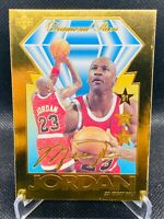 1995 Michael Jordan Upper Deck MJ Diamond Stars 23KT Gold Chicago Bulls