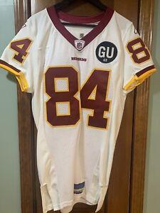 Horace Gant #84 2008 Game Worn Washington Redskins Jersey -Size 44 JO-Sports Hol