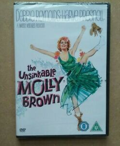 The Unsinkable Molly Brown - 1964 Musical - Debbie Reynolds, Ed Begley (DVD) NEW