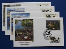 Russia (RD03, 6009-6011) 1991 Russia Duck Stamp First Day Cover Collection