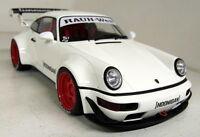 GT Spirit 1/18 Scale - Porsche 911 964 RWB Hoonigan White Resin sealed Model Car
