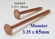 Copper Tree Stump Killer - 5xV.Large 65mm Copper Nails