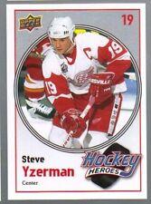 2010 - 2011 Upper Deck Steve Yzerman #6 Hockey Card