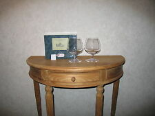 JG J.G. DURAND *NEW* CHATEAU Boîte 2 Verres Cognac Glasses Château