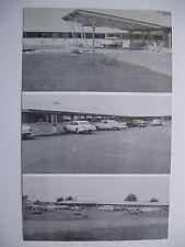 1950's GAS LITE MOTEL, LAWRENCEVILLE, ILLINOIS POSTCARD #1