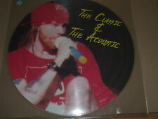 GUNS n' ROSES - THE CLASSIC AND THE ACOUSTICS -  PICTURE DISC - NRV 004 LIVE UK