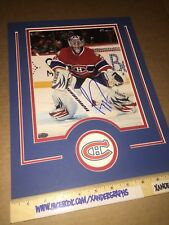 CAREY PRICE MONTREAL CANADIENS MATTED AUTOGRAPHED 8X10 HOCKEY PHOTOGRAPH-COA