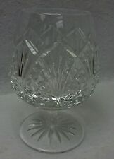 """WATERFORD crystal WATERVILLE pattern Brandy Goblet or Glass - 5-1/4"""""""