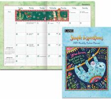 SIMPLE INSPIRATIONS - 2021 POCKET PLANNER CALENDAR - BRAND NEW - LANG ART 03185