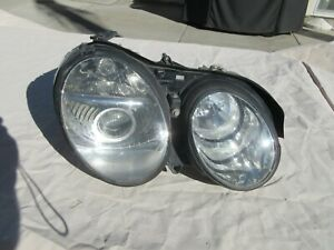 03-06 Mercedes-Benz W215 RIGHT XENON headlight assembly CL500 CL55 CL600 MBE