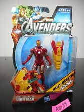 NEW! MARVEL AVENGERS SHATTERBLASTER IRON MAN ACTION FIGURE #18 2012 NIP!! A8-29