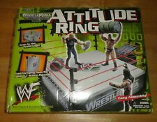 WWF Action Figure Ring with Steel Cage