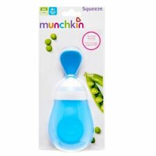 Munchkin Squeeze Spoon Blue 1 2 3 6 12 Packs