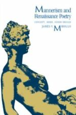 Mannerism and Renaissance Poetry: Concept, Mode, Inner Design-ExLibrary