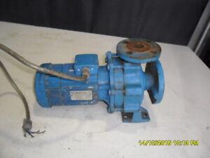 G64) INGERSOL DRESSER PUMP 3PHASE MODEL 50-32-125 QM3/H12 HM20 MAX 2900 MIN