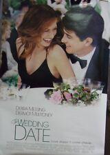 Wedding Date Original Double Sided Movie Poster Debra Messing Dermot Mulroney