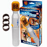NEW Pedi Paws Nail Trimmer Grinder Grooming Tool Care Clipper For Pet Dog Cat US