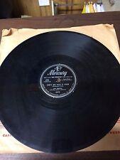 Vintage; Mercury 78 RPM record #5479