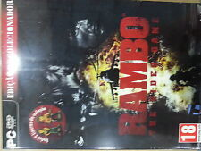 Rambo The Videogame Collector's Edition NEW PC Rare