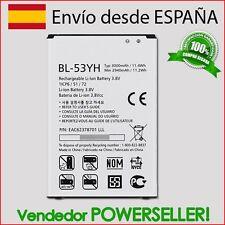 Batería BL-53YH para LG OPTIMUS G3 D855 / D830 / D850 / D851 / FU400 / VS985