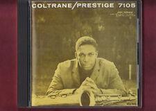 JOHN COLTRANE - COLTRANE PRESTIGE 7105 made in japan CD APERTO NON SIGILLATO